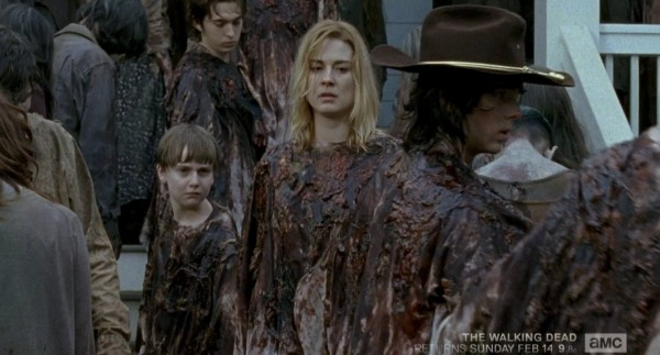 the walking dead ron sam bloodbath victims 2016 images