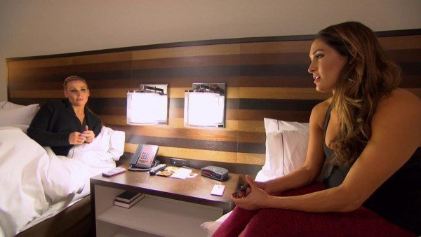 total divas 506 john cena breaks nose in ring wwe 2016 On this week's episode of Total Divas, Rosa told Brie and Nikki she was about to meet her boyfriend's parents for the first time. She was concerned because her boyfriend's mom is an Aetheist and her mom is deeply religious. Paige found out there was video online of her and Alicia at a bar. Alicia said this would look bad to WWE and she didn't want to get in trouble because she is innocent. During a RAW match, John Cena's nose was broken. He had to have emergency surgery to repair it. Nikki said she prays for Cena's safety every day. Alicia said she was considering a lifestyle change now that she is almost 30 years old. Nikki and Brie did a WWE red carpet event and Nikki fielded questions about Cena's broken nose. Rosa and he boyfriend Bobby talked about having their baby together. They went grocery shopping to make dinner for his parents. They discussed their religious differences in relation to her mother. They said they would figure out their differences but Rosa said they keep having this conversation and not getting anything out of it. Paige and Alicia talked about Alicia sleeping through her flight to Orlando to visit. Alicia wanted to go to the furniture store but Paige said she was hungry and wanted breakfast first. Paige said they should have a cocktail or two if they were going to go furniture shopping. Their waiter asked them what they were doing later and Paige said she wanted them to go bar hopping. Alicia resisted because she was trying to change her lifestyle. Paige took Alicia to a Bingo hall and said the people there were very charming. The man that sold them their Bingo cards joked that he wanted their phone numbers. Alicia said she felt her friendship with Paige was off balance. She said she was frustrated because by the time they were done Bingo all the stores were closed for the night. At a bar, Paige and Alicia disagreed on what they should be doing. Though Paige hung out at a bar, Alicia wo