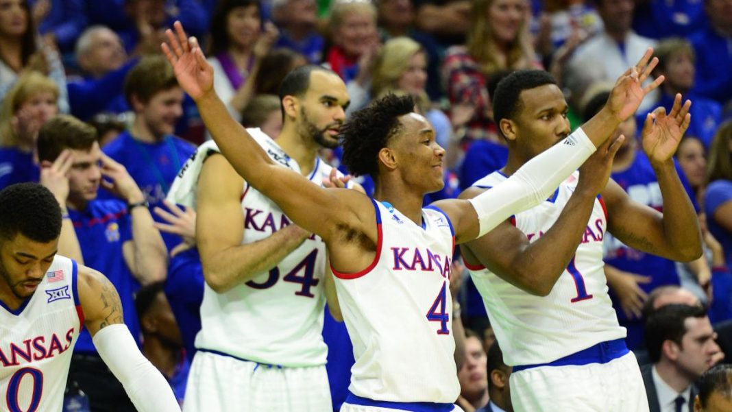 NCAA March Madness Recap Kansas & Top Seeds make Sweet 16 2016 images