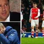 Paul Merson: Wenger should be sacked if Arsenal lose the title race to Leicester or Spurs