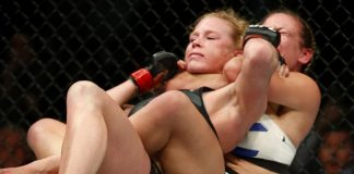UFC 196 Women's Division Aftermath holly holms loss to miesha tate 2016 images