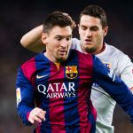 barcelona taking on atletico madrid in champions league quarter final
