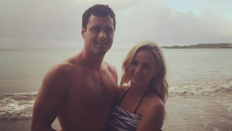 ben higgins wet with lauren bushnell 2016