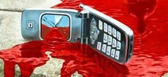 bloody cell phone movie