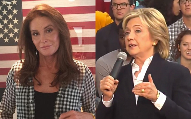 i am cait 202 woman of the year vs hillary clinton 2016 images