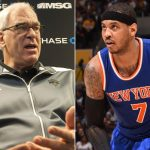 carmelo anthony shuts down phil jackson coaching rumors 2016 images