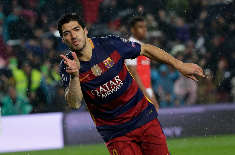 champions league barcelona take out arsenal 2016 soccer images