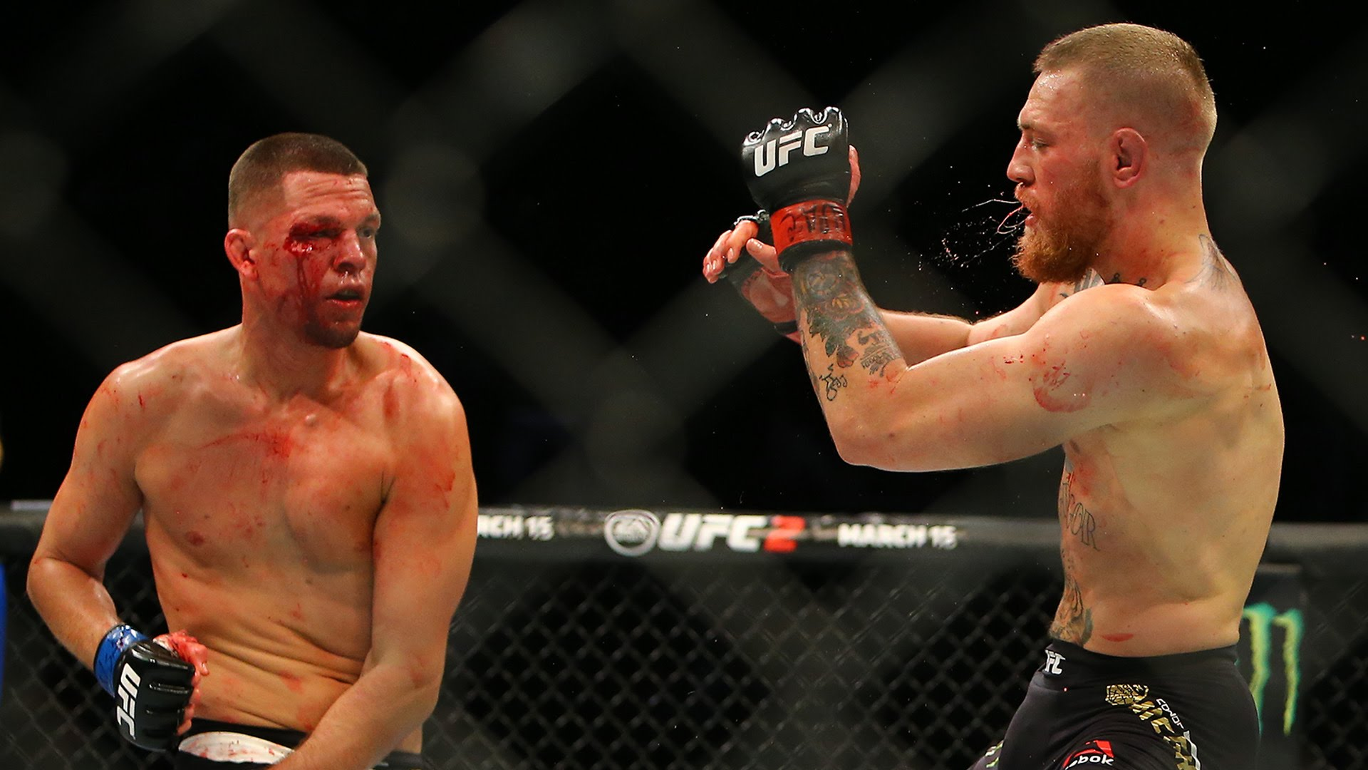 conor mcgregor vs nate diaz 2 2016 mma