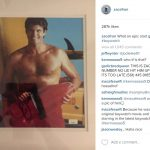 david hasselhoff gift to zac efron for baywatch 2016 gossip