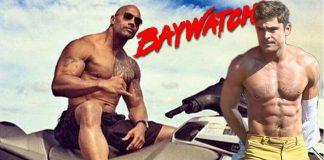dawyne johnson zac efron welcome david hasselhoff to baywatch 2016 gossip