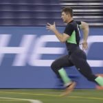 fastest 40 yards at nfl combine