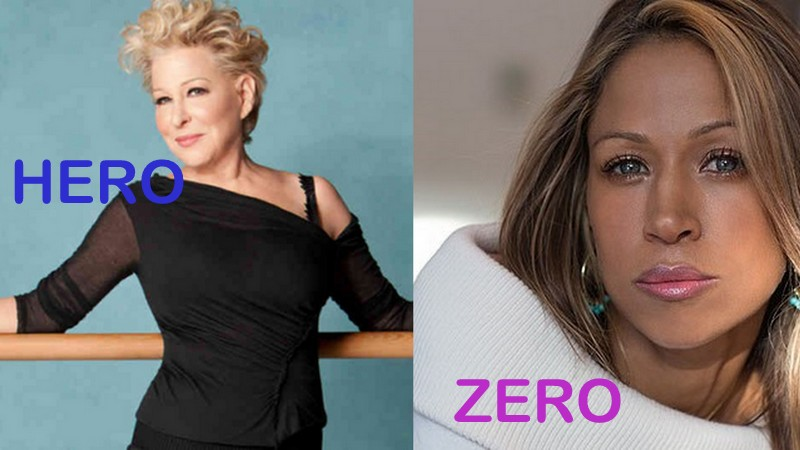 heroes & zeros bette midler vs stacey dash 2016 opinion