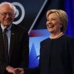 Immigration star of Bernie Sanders Hillary Clinton Democratic Debate