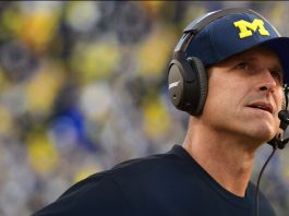 jim harbaugh gets petty with ohio state director 2016 images