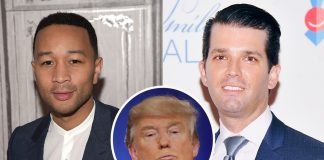 john legend takes racism to donald trump family 2016 gossip