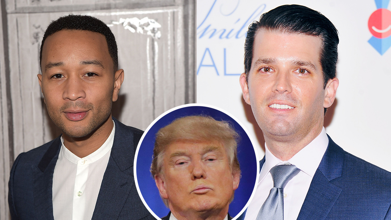 John Legend takes racism to Donald Trump family & Russell ...