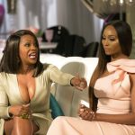 kandi on kenya moore real housewives of atlanta reuion 2016 images