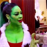 kenya moore grinch for real housewives of atlanta 2016 images