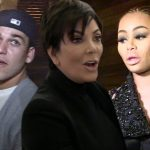 No Weeknd for Rihanna & Kris Jenner staying mum on Blac Chyna and Rob Kardashian