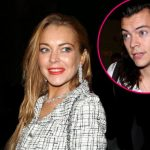 lindsay lohan booted harry styles 2016 gossip