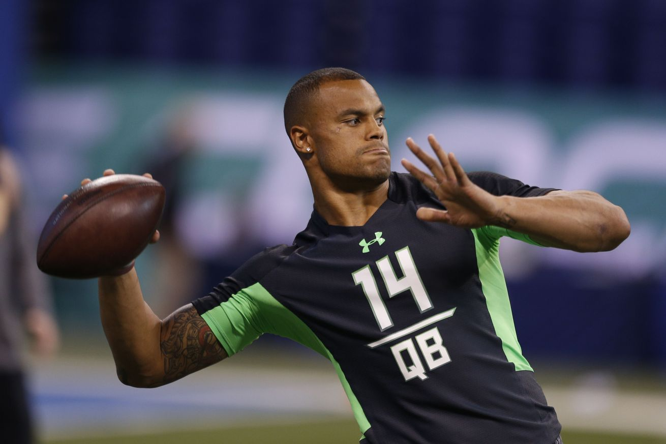 mississippi state qb dak prescott trying to turn DUI arrest around 2016 images