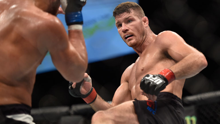 mma weekly bisping beats silva & rafael dos anjos injured 2016 images