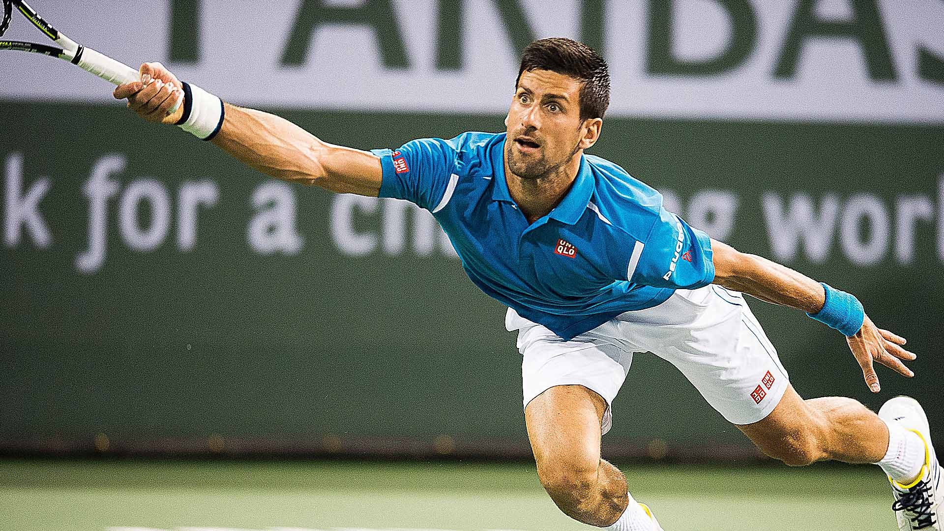 novak djokovic wins atp indian wells defeating milos raonic 2016 imagesnovak djokovic wins atp indian wells defeating milos raonic 2016 images