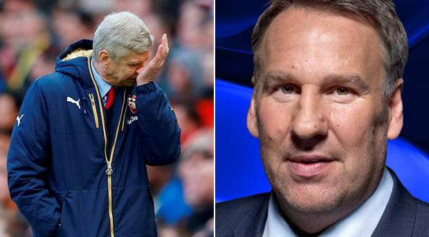 Paul Merson Wenger should be sacked if Arsenal lose the title race 2016 images