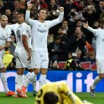 Real Madrid and Paris Saint Germain through to the Champions League quarter finals