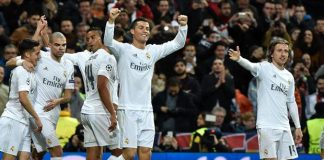 real madrid and paris saint germain through to the champions league 2016 images