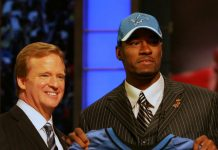 roger goodell doesn't agree with calvin johnson early retirment 2016 images