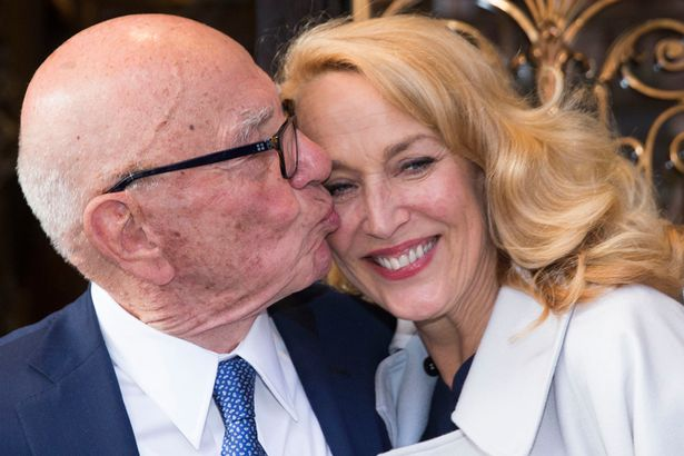 rupert murdoch cashes in for jerry hall 2016 gossip