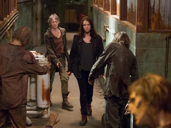 the walking dead 613 maggie carol survive