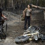 the walking dead daryl bike stolen