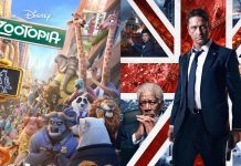 zootopia and london has fallen take out deadpool for weekend box office 2016 images
