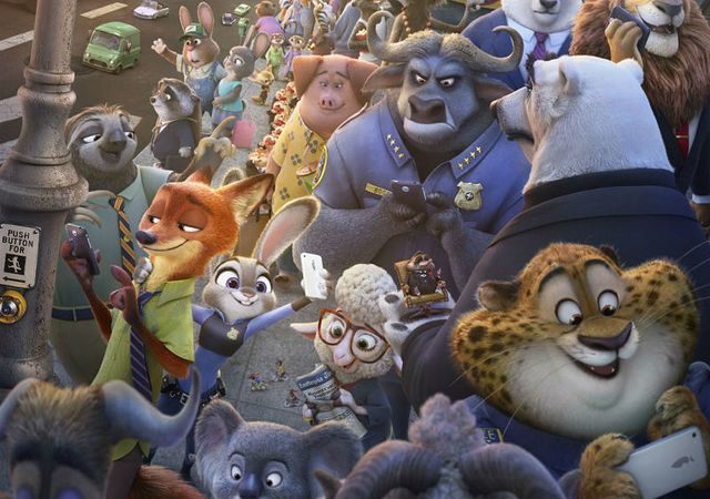 zootopia continues ruling the weekend box office 2016 images