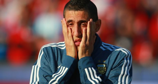 Angel Di Maria blames Louis van Gaal for Manchester United failure 2016 images