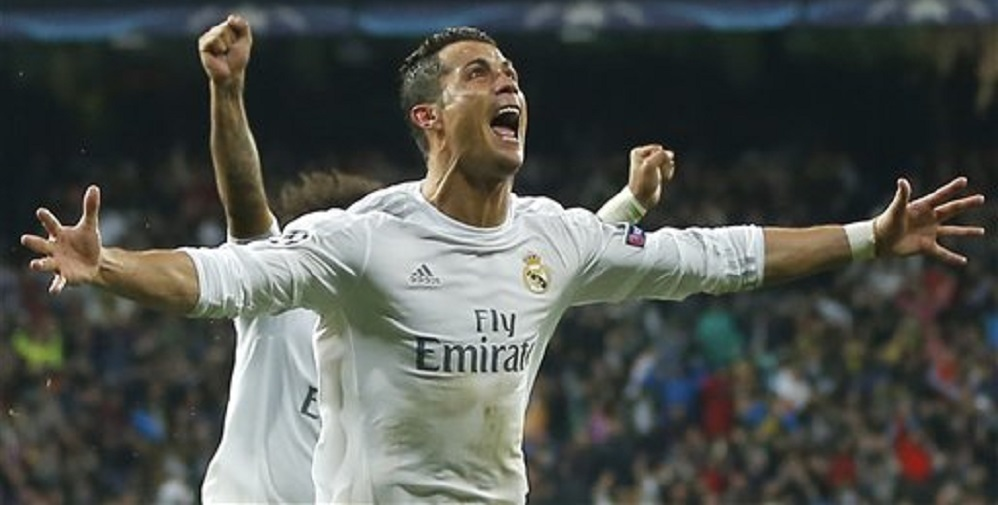 Cristiano Ronaldo leads Real Madrid back to Champions League semifinals 2016 images