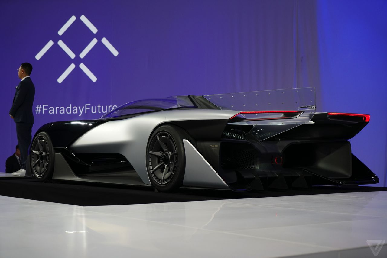 FFZERO1 faraday future racecar 2016 images