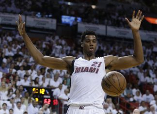 Hassan Whiteside Falls to Third in NBA Defensive Player of the Year Voting 2016 images