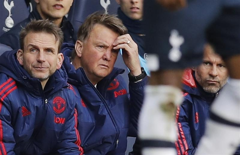 Jordi Cruyff Harsh and early to say Louis Van Gaal has failed at Man United 2016 images