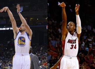 NBA Great Ray Allen Thinks Steph Curry is well on his way to Being Best Shooter Ever 2016 images