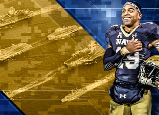 Navy Quarterback Keenan Reynolds Willing to Change Positions for a Shot in the NFL 216 images