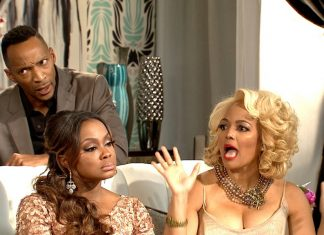 Real Housewives of Atlanta' Reunion 3 Porsha violence & Kim Fields hubby defense 2016 images