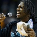 Robert Griffin III can't avoid microphones but should