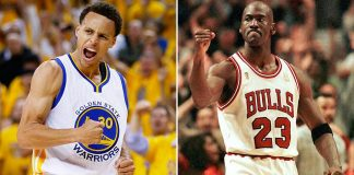Scottie Pippen Believes Michael Jordan, 1995-1996 Chicago Bulls Would Sweep Steph Curry 2016 images