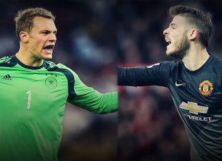 Why Fergie chose David de Gea over Manuel Neuer 2016 images