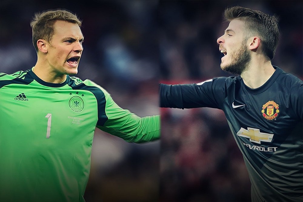 Why Fergie chose David de Gea over Manuel Neuer 2016 images