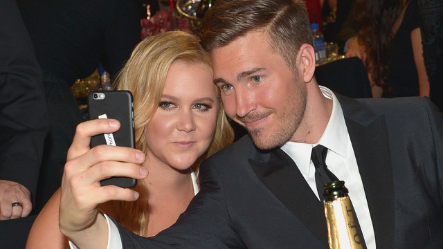 amy schumer with boyfriend ben hanish