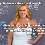 amy schumer feels she isn't plus size category 2016